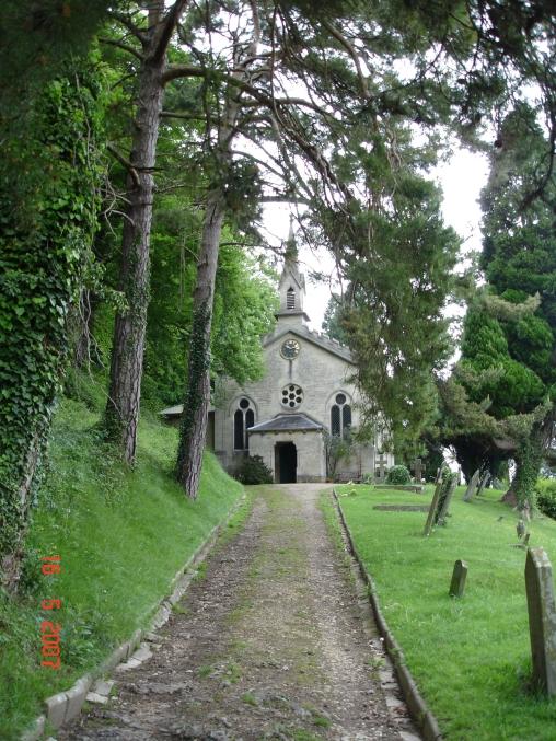 Slad church