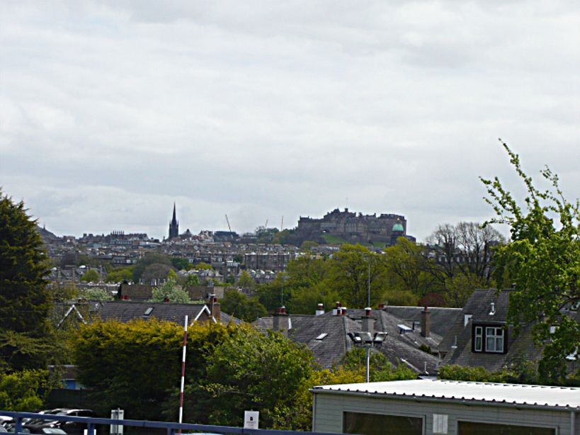 Edinburgh Cancer Centre view of Edinburgh skyline2