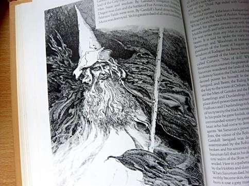 Tolkien Bestiary Gandalf