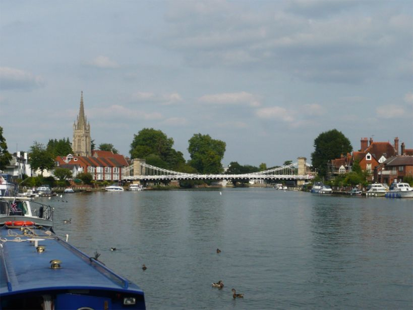 Marlow Bridge P1090134
