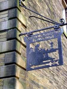 Bronte Museum sign P1010267