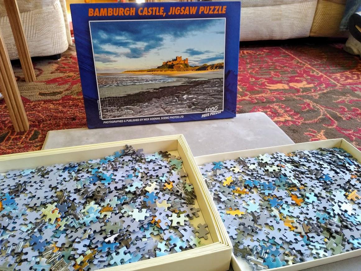 Bamburgh Castle pieces